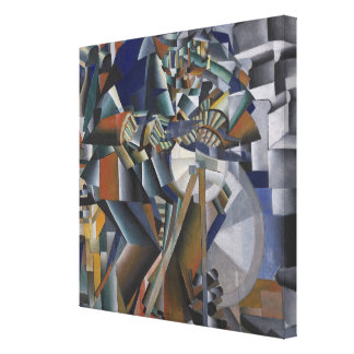 The Knife Grinder or Principle of Glittering Canvas Print