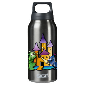 The Knight and the Dragon Insulated Water Bottle