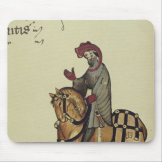 The Knight, facsimile detail from Mouse Mat