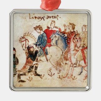 The Knights Esclabor and Arphasar Offer Christmas Ornament