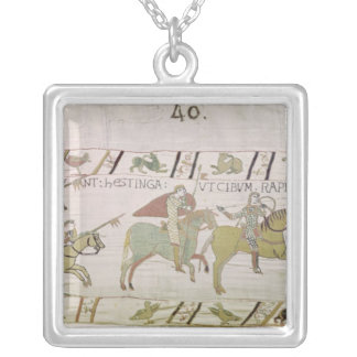 The Knights Ride to Hastings to Forage for Silver Plated Necklace