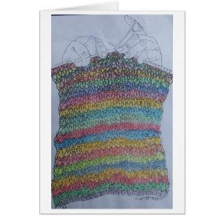 the knitter card