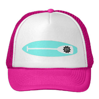 The Knitty Triathlete Trucker Hat