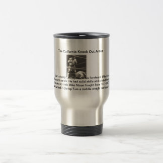 The Knock Out Artist-Contender Series Stainless Steel Travel Mug