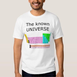 The known universe shirts