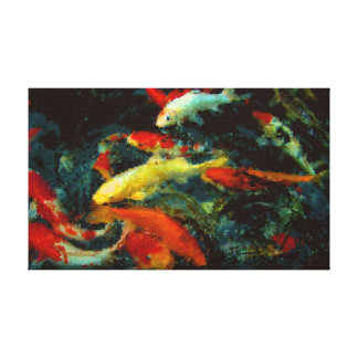 The Koi Canvas Print