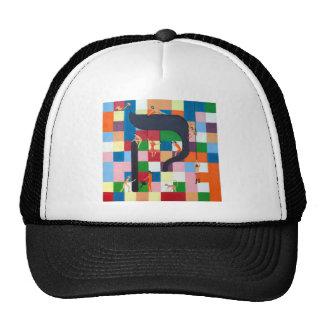 The Kouf Letter - Hebrew alphbet Hats