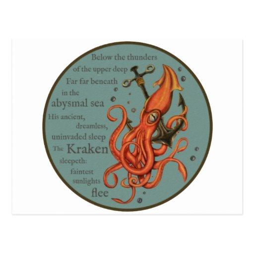 The Kraken Post Card