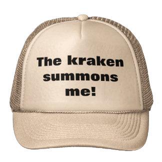 The kraken summons me cap