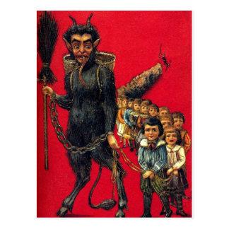 The Krampus Postcard