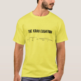 """The Krav Equation"" T-Shirt"