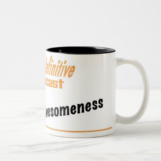 The Krus of Awesomeness Two-Tone Coffee Mug