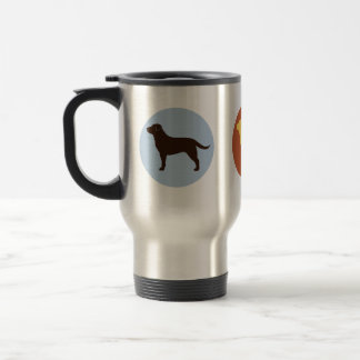 The Lab Collection Stainless Steel Travel Mug