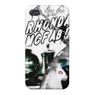 The Lab of Rhonda McFab! iphone case Cover For iPhone 4