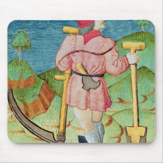 The Labourer Mouse Mat