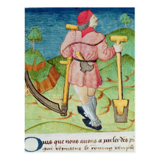The Labourer Postcard