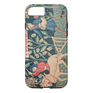 The Labours of the Months, Alsace (tapestry)Vict iPhone 8/7 Case
