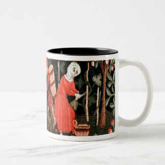 The Labours of the Months, from Alsace Two-Tone Mug