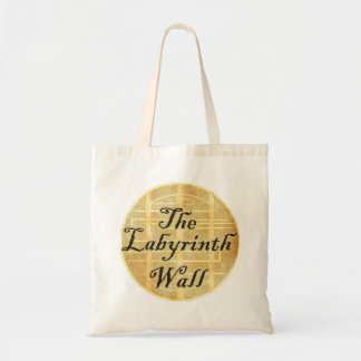 The Labyrinth Wall White Tote Budget Tote Bag