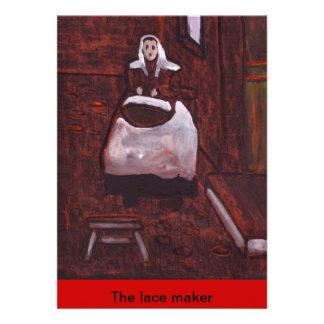 (The lace maker Invitation)