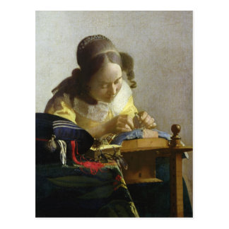 The Lacemaker, 1669-70 Postcards