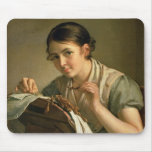 The Lacemaker, 1823 Mouse Pad