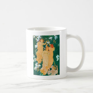 The Ladder in the Foliage, 1892 Coffee Mug