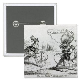 The Ladies Accelerator, 1819 15 Cm Square Badge