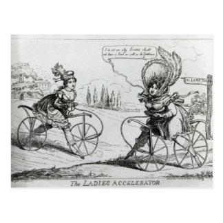 The Ladies Accelerator, 1819 Postcard