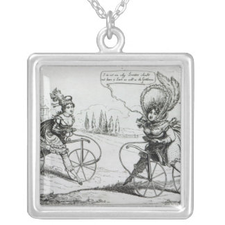 The Ladies Accelerator, 1819 Silver Plated Necklace