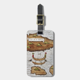 THE LADRONE ISLANDS LUGGAGE TAG