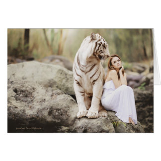 The Lady and the Tiger  -- Card