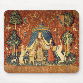 The Lady and the Unicorn Desire Mouse Pad