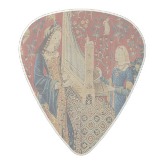 The Lady and the Unicorn: 'Hearing' Acetal Guitar Pick