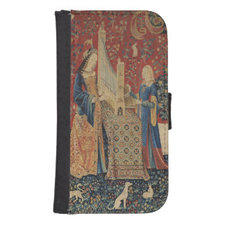 The Lady and the Unicorn: 'Hearing' Samsung S4 Wallet Case