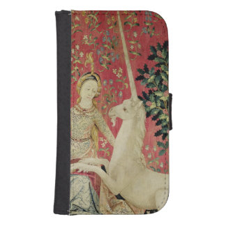 The Lady and the Unicorn: 'Sight' Samsung S4 Wallet Case