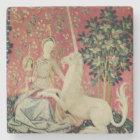The Lady and the Unicorn: 'Sight' Stone Coaster