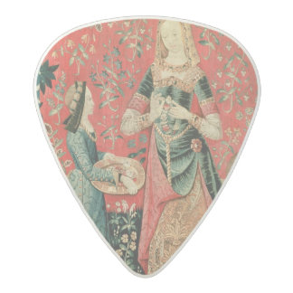 The Lady and the Unicorn: 'Smell' Acetal Guitar Pick