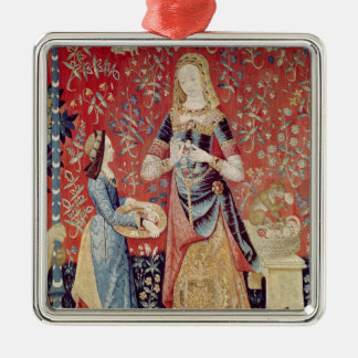The Lady and the Unicorn: 'Smell' Christmas Ornament