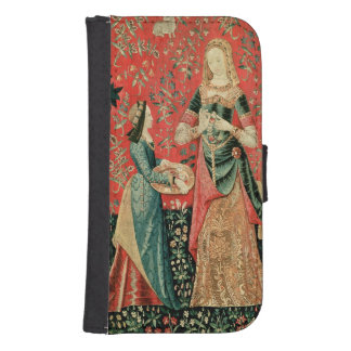 The Lady and the Unicorn: 'Smell' Samsung S4 Wallet Case