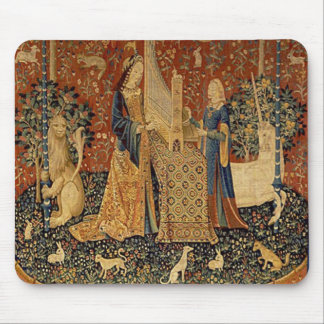 The Lady and the Unicorn: Sound Mouse Mat