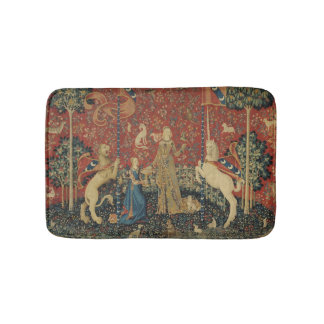 The Lady and the Unicorn: 'Taste' Bath Mat