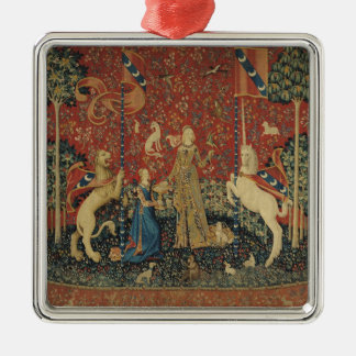 The Lady and the Unicorn: 'Taste' Christmas Ornament