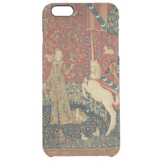 The Lady and the Unicorn: 'Taste' Clear iPhone 6 Plus Case