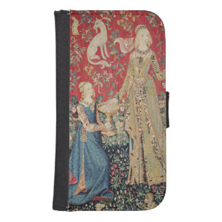 The Lady and the Unicorn: 'Taste' Samsung S4 Wallet Case