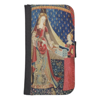The Lady and the Unicorn: 'To my only desire' 2 Samsung S4 Wallet Case