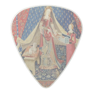 The Lady and the Unicorn: 'To my only desire' Acetal Guitar Pick