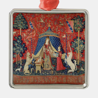 The Lady and the Unicorn: 'To my only desire' Christmas Ornament
