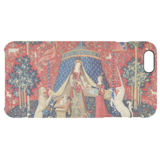 The Lady and the Unicorn: 'To my only desire' Clear iPhone 6 Plus Case