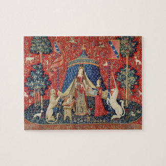 The Lady and the Unicorn: 'To my only desire' Jigsaw Puzzle
